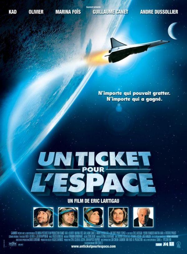 Билет в Космос - (Un ticket pour l'espace)