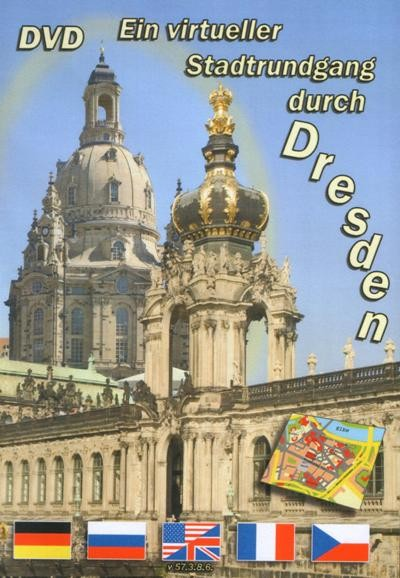 Обзорная экскурсия по Дрездену - (Ein virtueller Stadtrundgang durch Dresden)