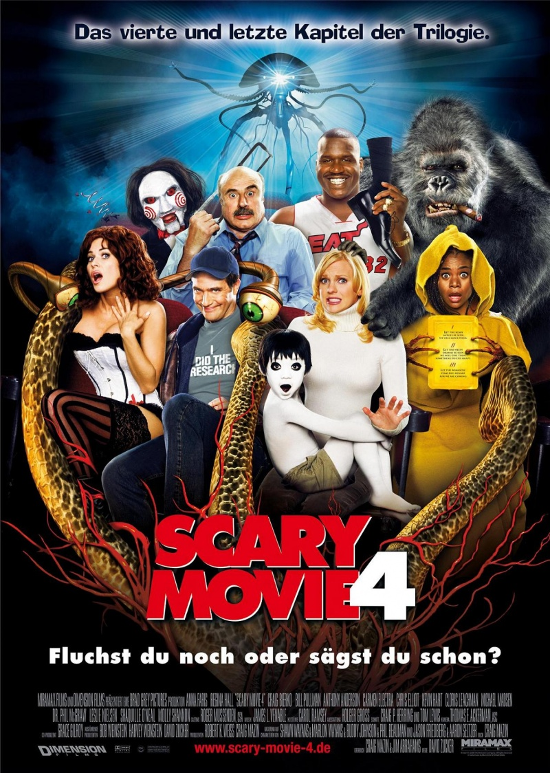 Очень страшное кино 4 - (Scary Movie 4)