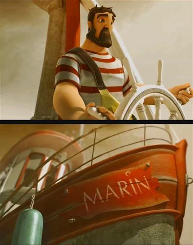 Моряк - (Marin)