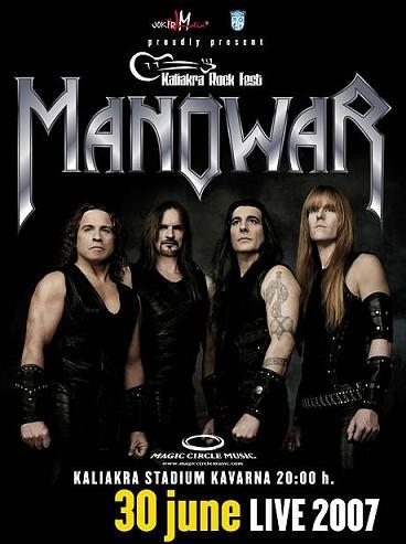 Manowar: Live in Kavarna