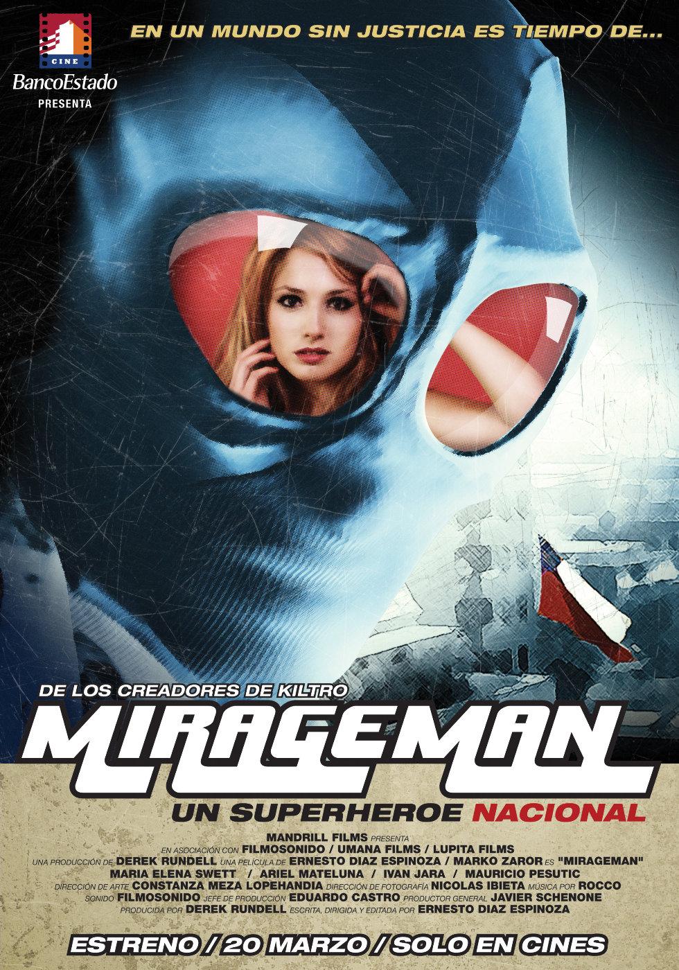 Человек-Мираж - (Mirageman)