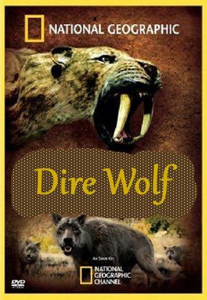 National Geographic: Доисторические хищники. Древний страшный серый волк - (Prehistoric Predators. Dire Wolf)