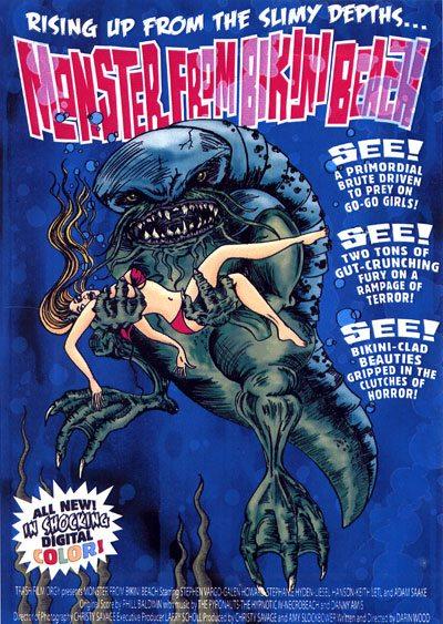 Монстр с пляжа бикини - (Monster From Bikini Beach)