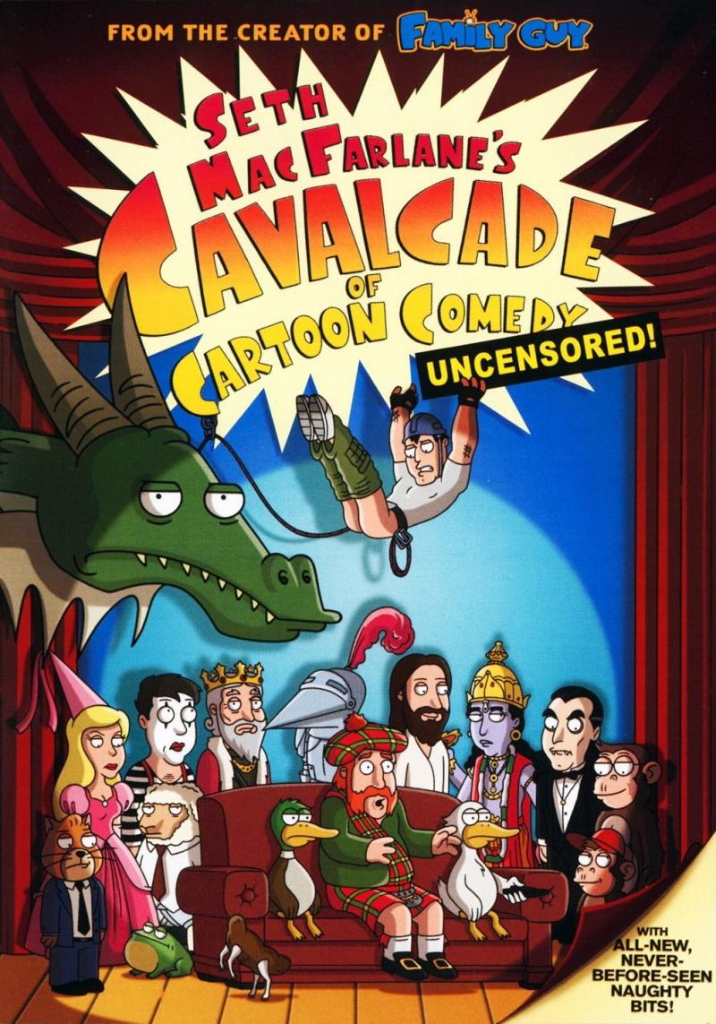 Кавалькада мультипликационных комедий - (Cavalcade of Cartoon Comedy)