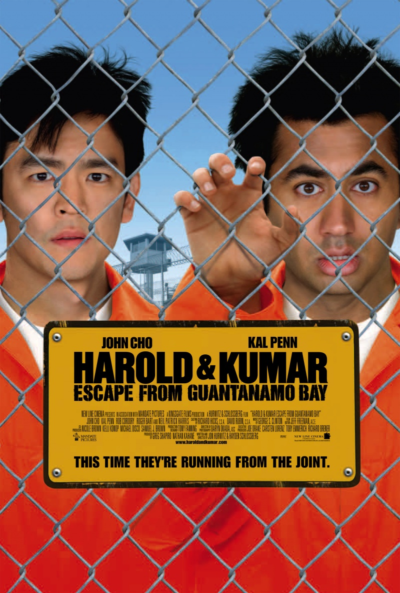 Гарольд и Кумар 2: Побег из Гуантанамо - (Harold & Kumar Escape from Guantanamo Bay)