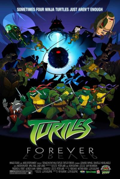 Черепашки навсегда - (Turtles Forever)