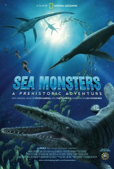 National Geographic: Чудища морей: Доисторическое Приключение - (Sea Monsters: A Prehistoric Adventure)