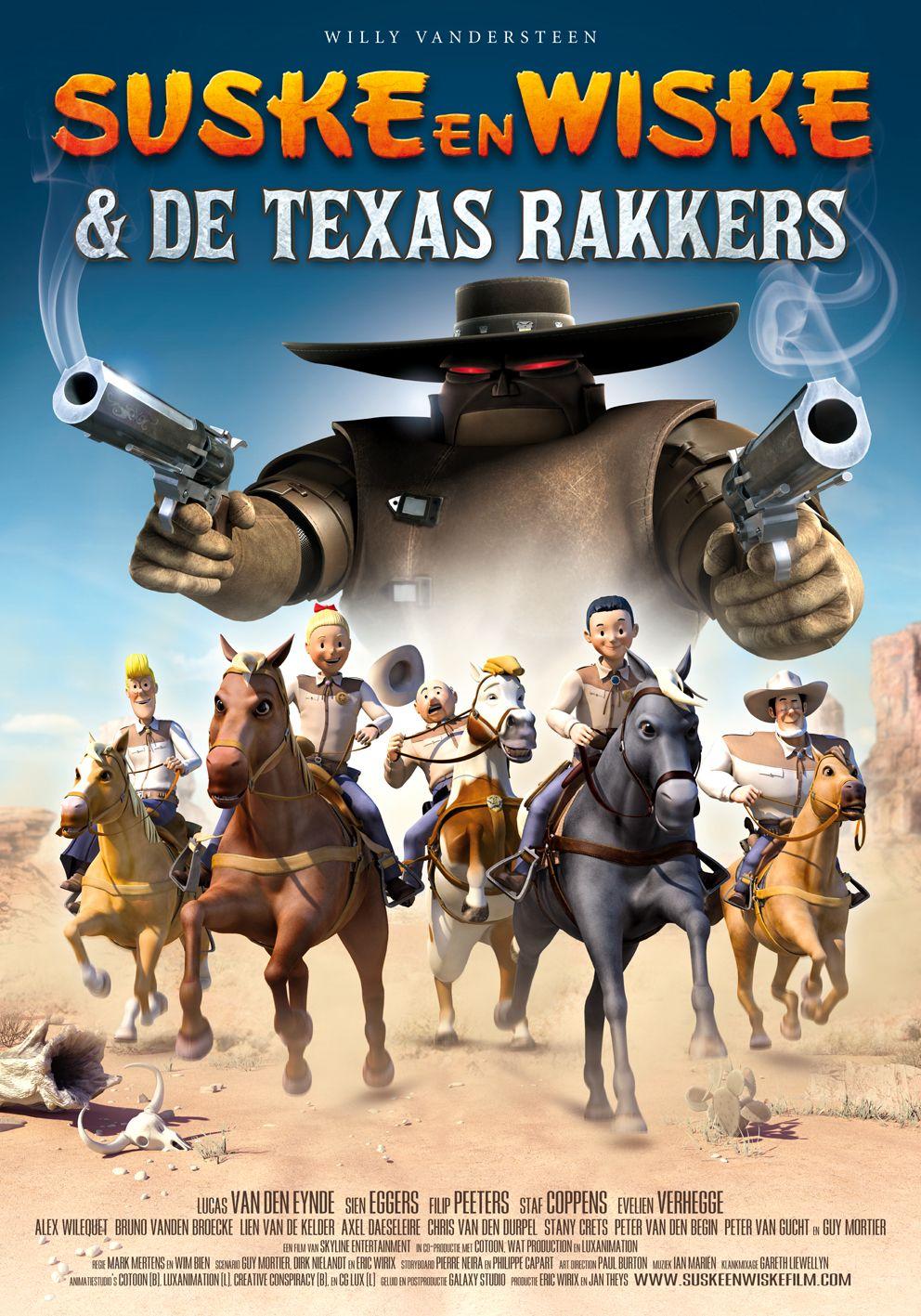 Люк и Люси: Техасские рейнджеры - (Suske En Wiske: De Texas Rakkers)