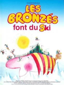 Загорелые на лыжах - Les bronzйs font du ski
