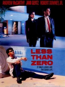 Меньше нуля - Less Than Zero