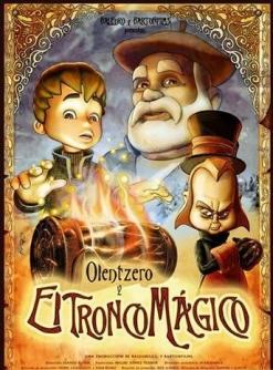 Волшебный огонь - Olentzero y el tronco mбgico