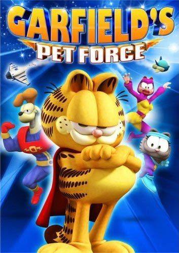 Космический спецназ Гарфилда 3D - (Garfield's Pet Force)