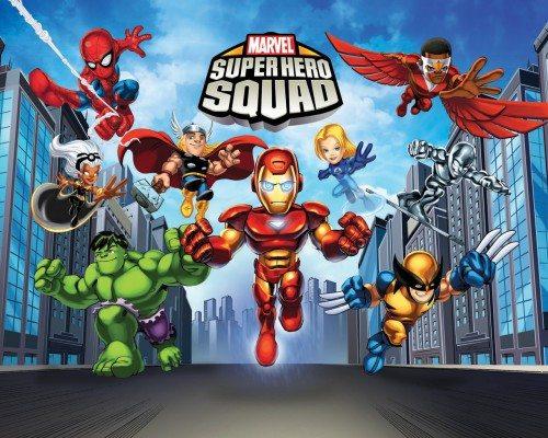 ����� ����������� - (The Super Hero Squad Show)