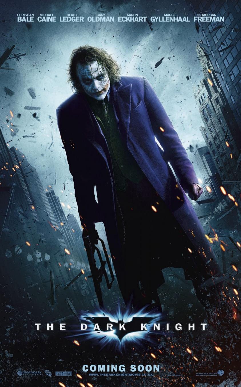 Мир фантастики: Темный рыцарь: Киноляпы и интересные факты - (The Dark Knight)