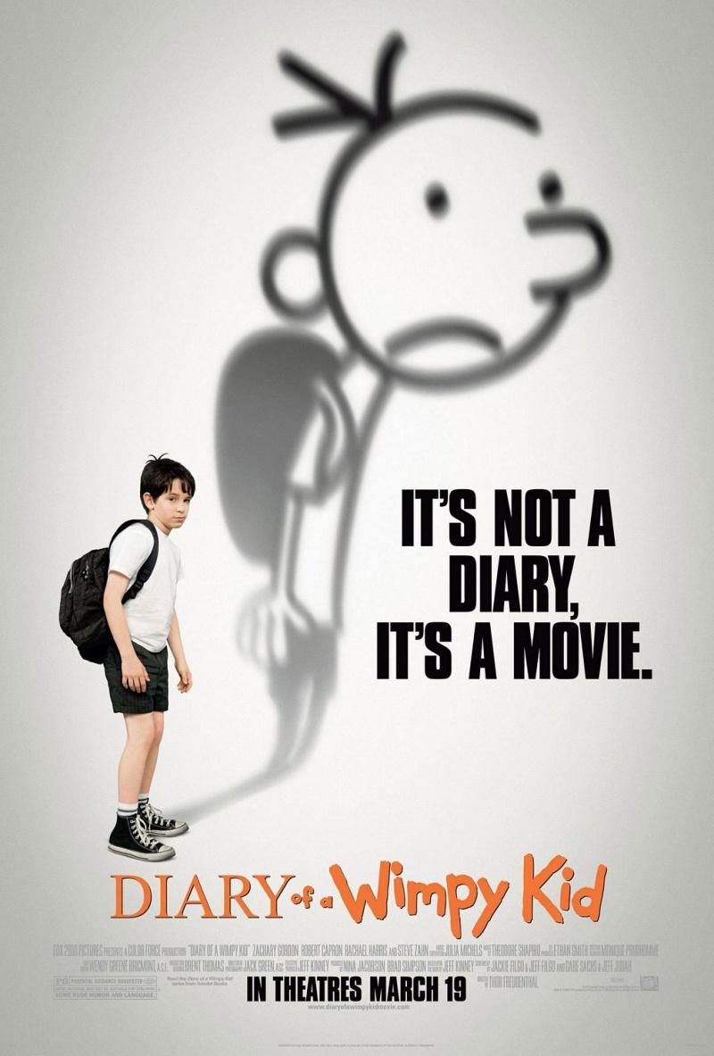 Дневник слабака - (Diary of a Wimpy Kid)