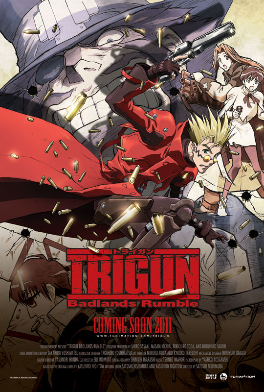 Триган - Переполох в Пустошах - (Gekijouban Trigun: Badlands Rumble)