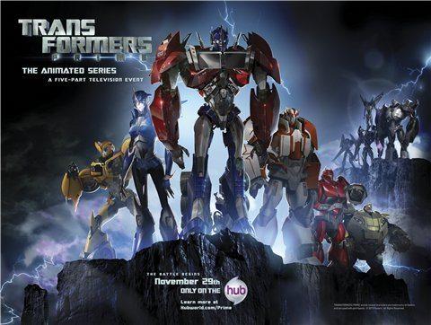 Трансформеры: Прайм - (Transformers Prime)