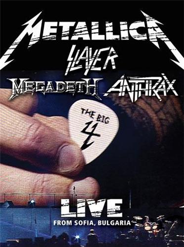 The Big Four - Metallica, Slayer, Megadeth, Anthrax Live in Sofia Rocks Sonisphere