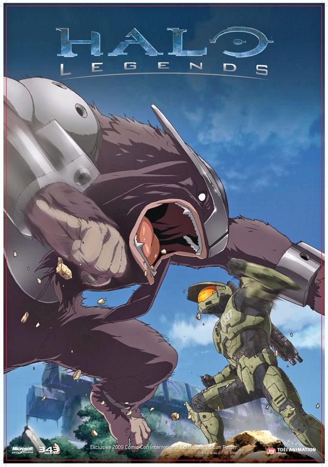 Легенды Halo (Легенды Хало) - (Halo Legend)