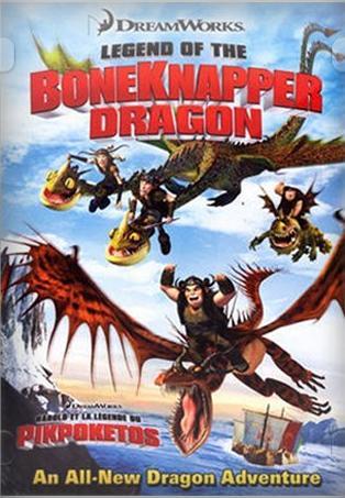 Как приручить дракона: Легенда о Костяном Драконе - (Legend of the Boneknapper Dragon)