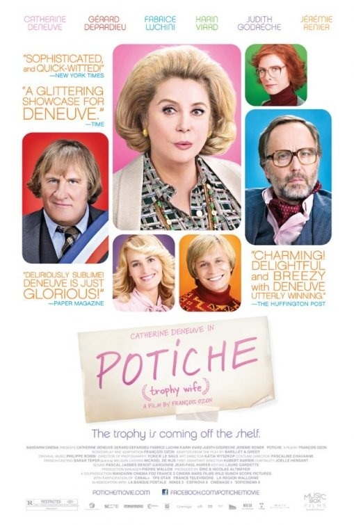 Отчаянная домохозяйка - (Potiche)
