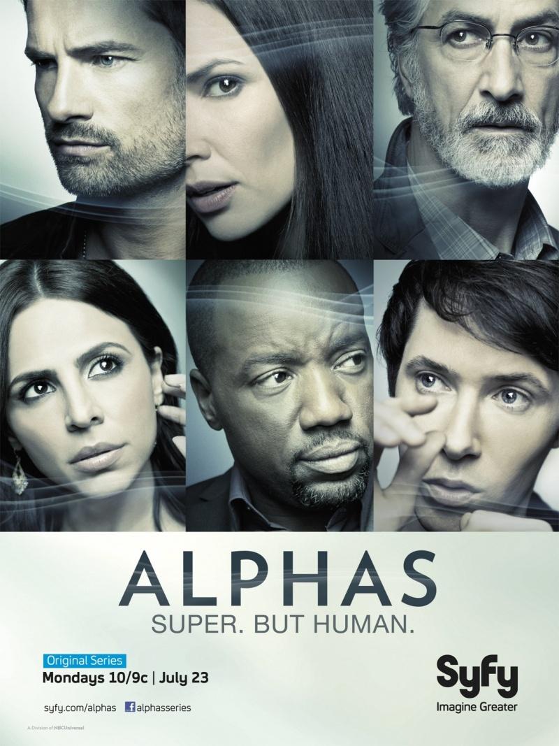 Люди-Альфа - (Alphas)