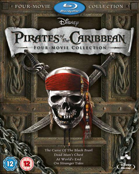 Пираты Карибского моря: Квадрология - (Pirates of the Caribbean Quadrilogy)