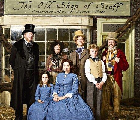 Холодная Лавка Всякой Всячины - (The Bleak Old Shop of Stuff)
