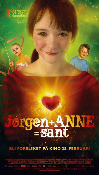 Йорген + Анна = правда - (JГёrgen + Anne = sant)