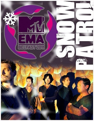 Snow Patrol: MTV European Music Awards
