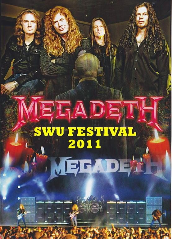Megadeth: Live at SWU Music & Arts Festival, Brazil