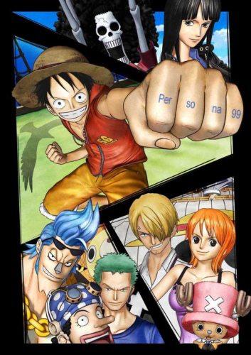 Ван-Пис 3D: Погоня за Соломенной Шляпой - (One Piece 3D: Mugiwara Chase)