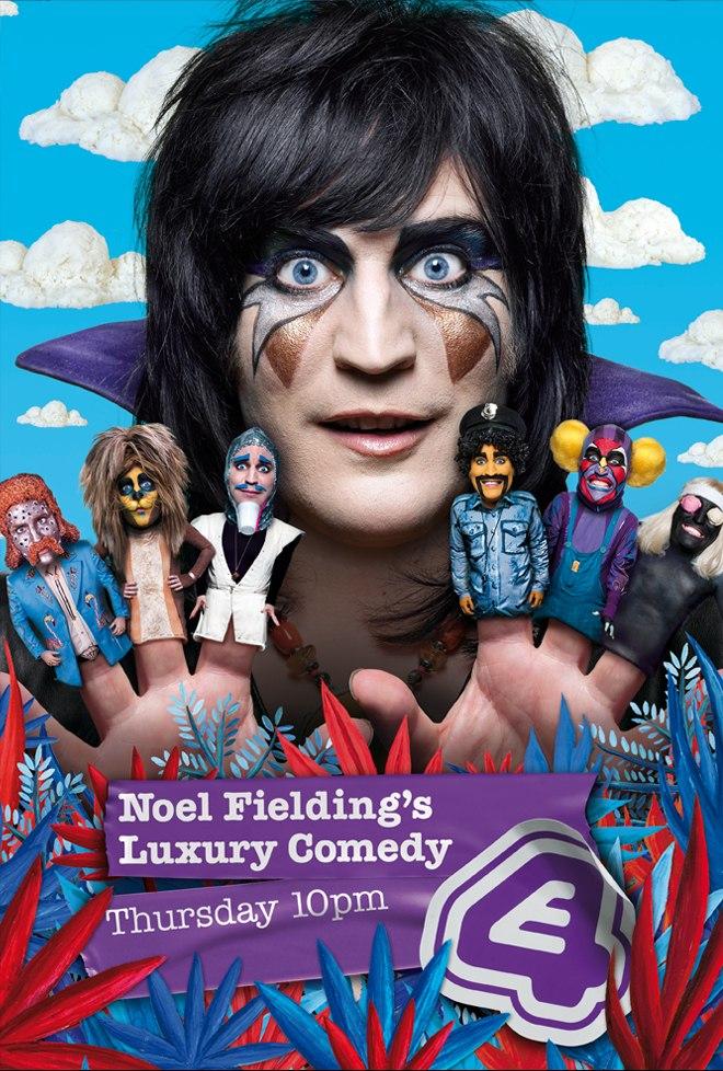 Роскошная комедия Ноэля Филдинга - (Noel Fielding's Luxury Comedy)