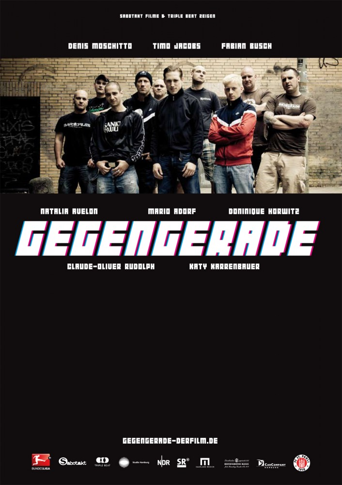 Спина прямая - никто не выигрывает на Миллернтор - (Gegengerade - 20359 St. Pauli)