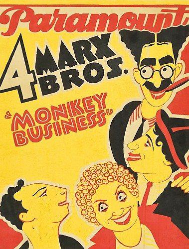 Обезьяньи проделки - Monkey Business