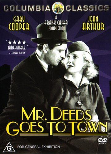 Мистер Дидс переезжает в город - Mr. Deeds Goes to Town