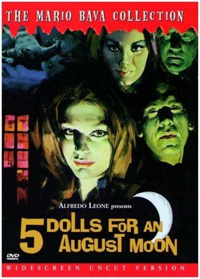 Пять кукол для августовской луны - 5 bambole per la luna d'agosto
