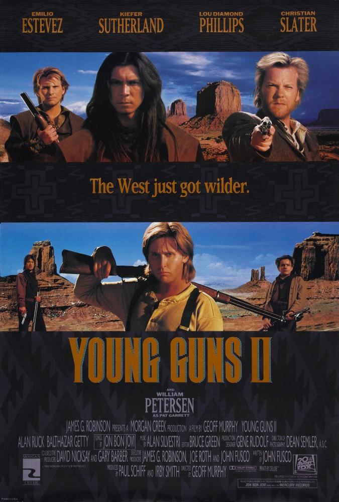 Молодые стрелки 2 - Young Guns 2