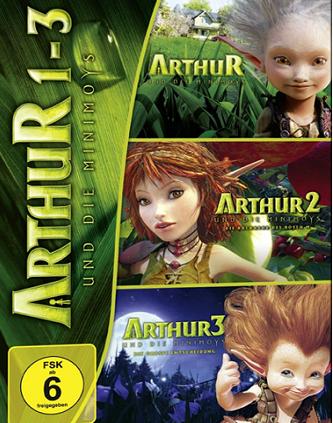 Артур и минипуты: Трилогия - Arthur et les Minimoys- Trilogy