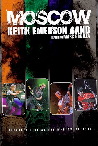 Keith Emerson Band - Moscow 2008