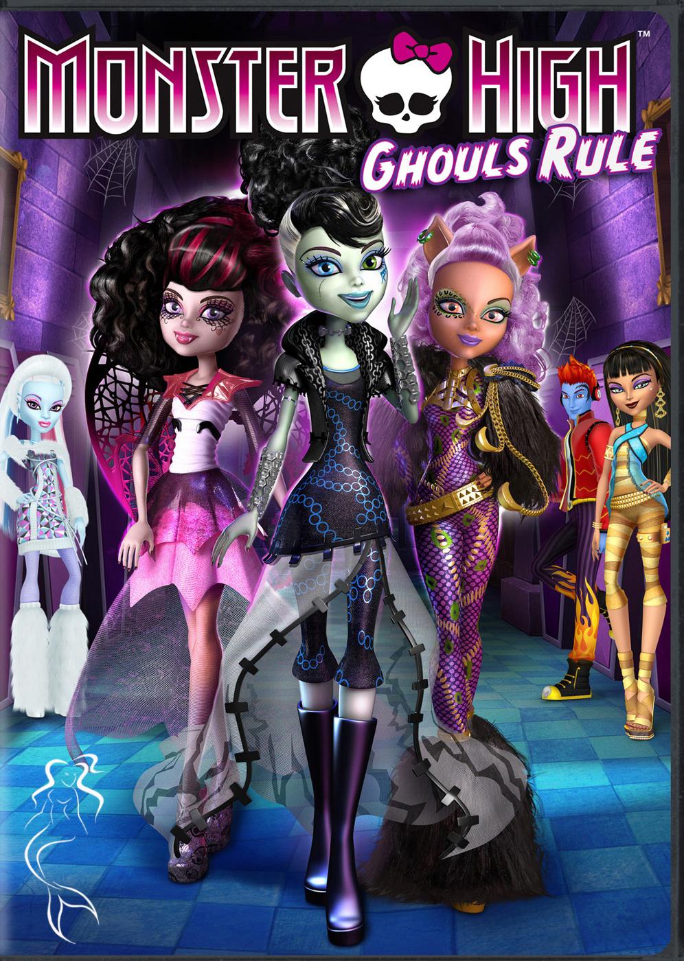 Школа монстров: Классные девчонки - Monster High- Ghoul's Rule!