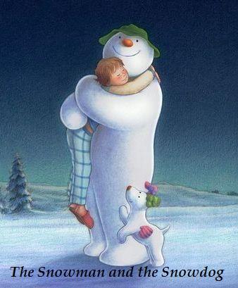 Снеговик и Снежный пёс - The Snowman and the Snowdog