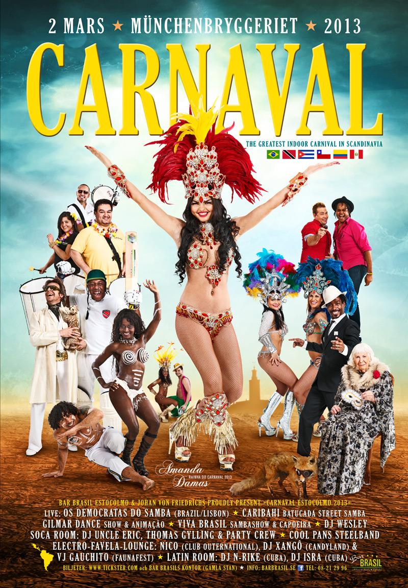 Карнавал в Рио-де-Жанейро 2013 - Carnaval Rio de Janeiro 2013