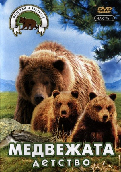 Истории о зверятах: Медвежата. Детство - Medove