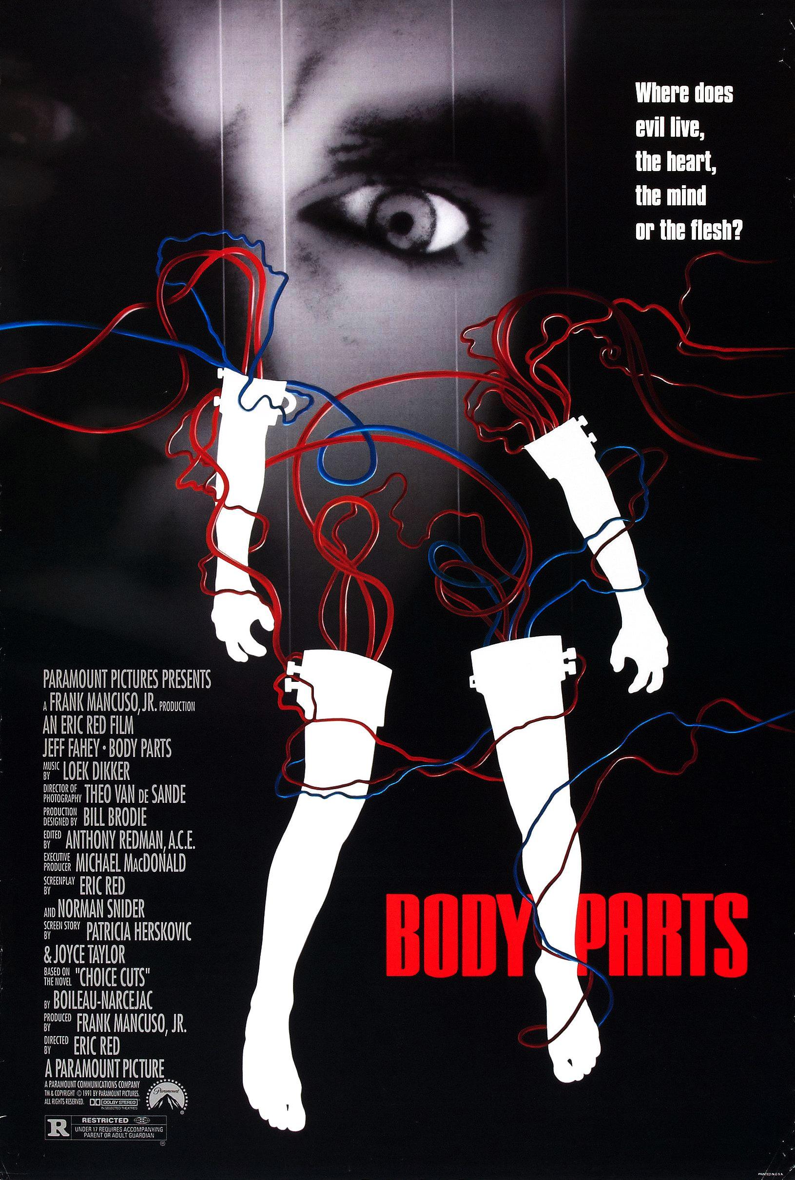 Расчлененное тело - Body Parts