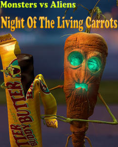 ���� ����� �������� - Night of the Living Carrots