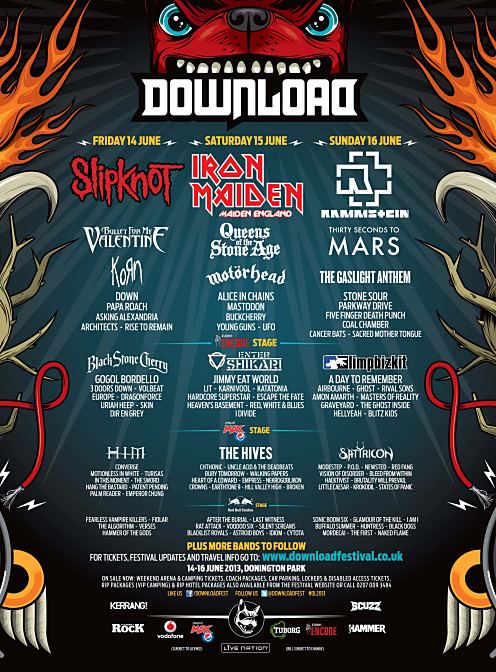 VA - Download Festival 2013 Highlights