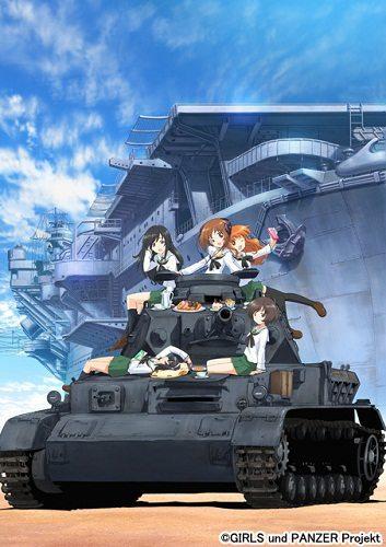 Девушки и танки. - Girls und Panzer.