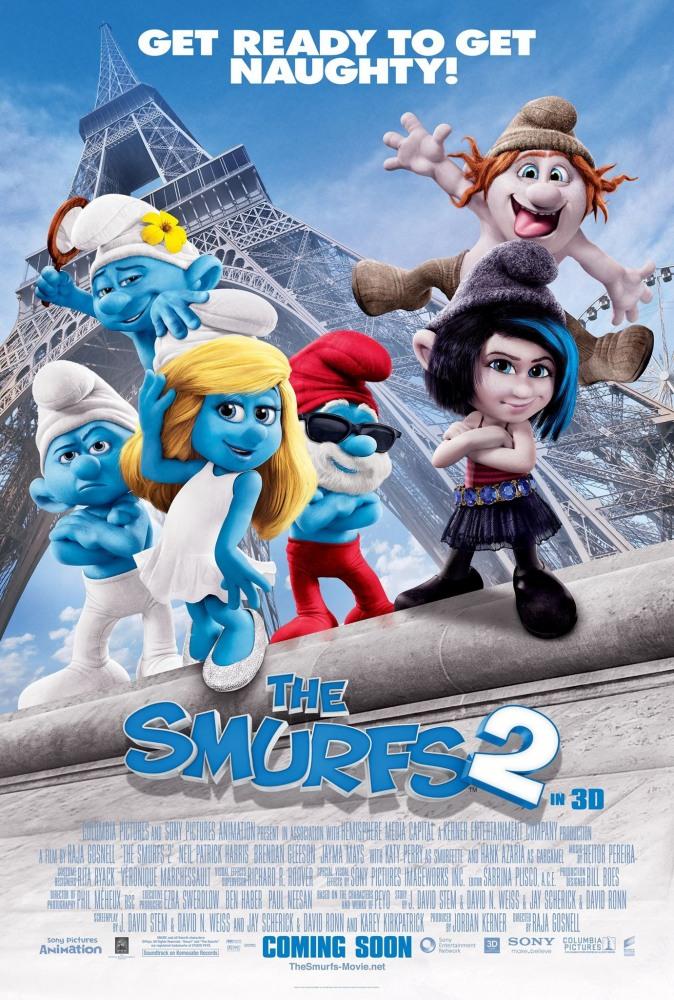 Смурфики 2 - The Smurfs 2